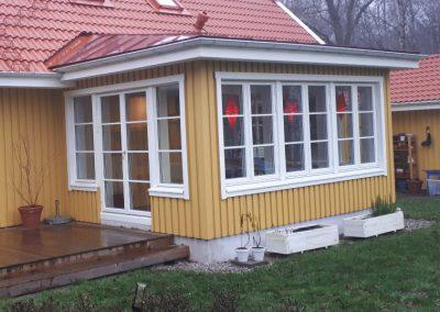 Om- och tillbyggnader av befintliga hus